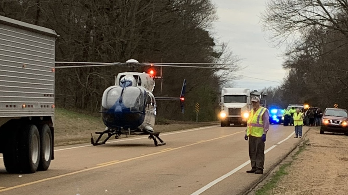 One killed, two injured in Yazoo Co. wreck involving 18-wheeler
