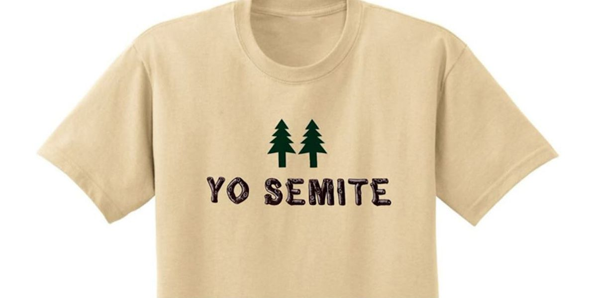 'Yo Semite' T-shirt is hit after Trump blunder