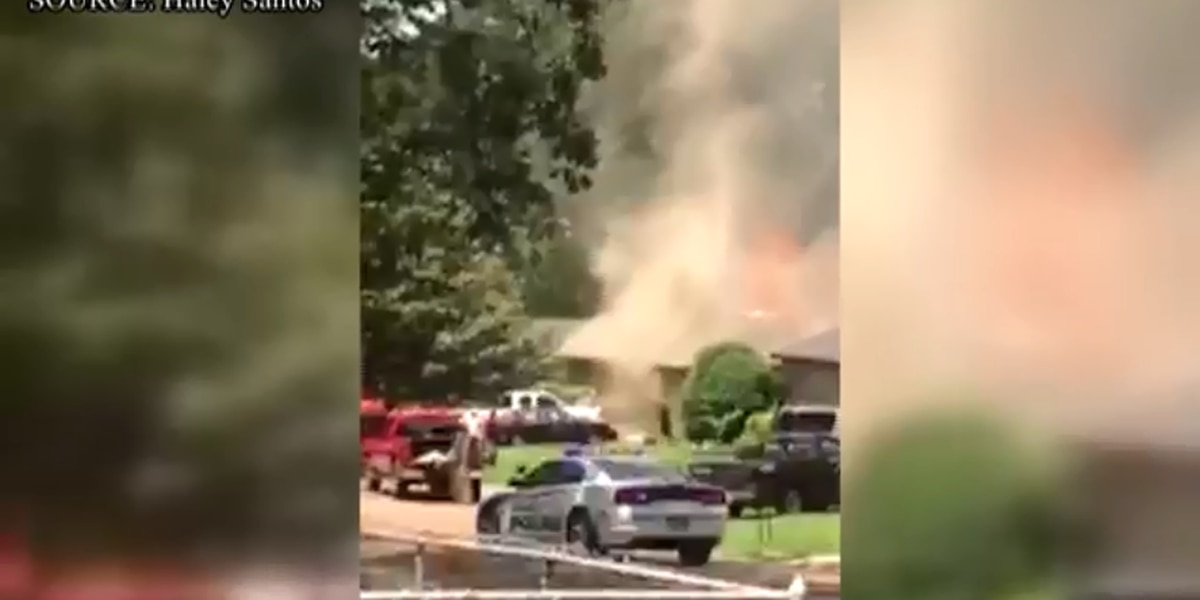 Firefighters extinguish Pearl house fire that caused heavy damage, killed cat
