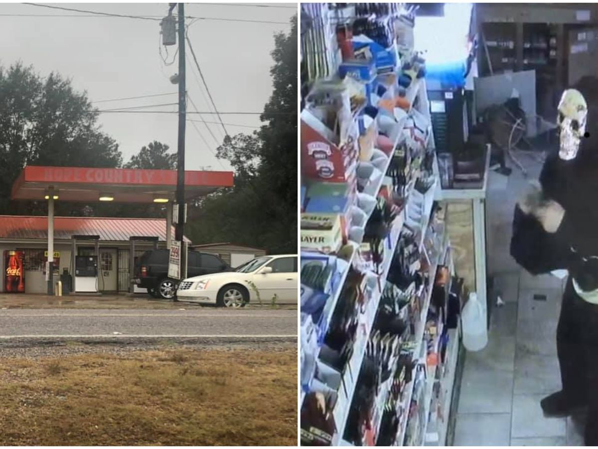 Masked suspect robs convience store in Neshoba County