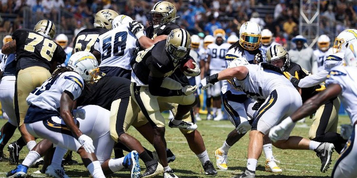 Saints 'beat the heat' and get same quality work in with the Chargers