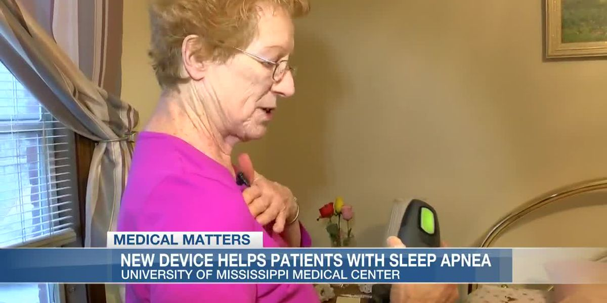 Miss. woman says new device for sleep apnea will 'change your life'