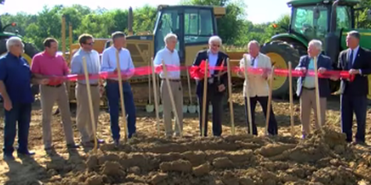Groundbreaking ceremony for next phase of Brandon's Grants Ferry Parkway