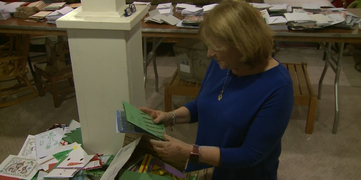 Woman to send 100,000 holiday cards to troops