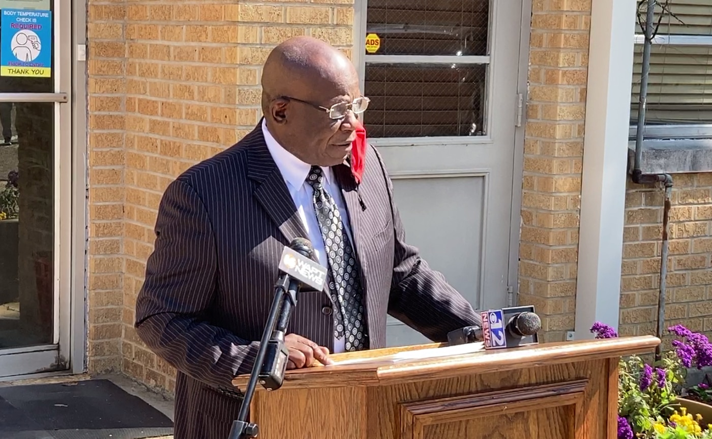 Canton Mayor William Truly announces that the 2021 Democratic primary results had been accepted by the MS Secretary of State.