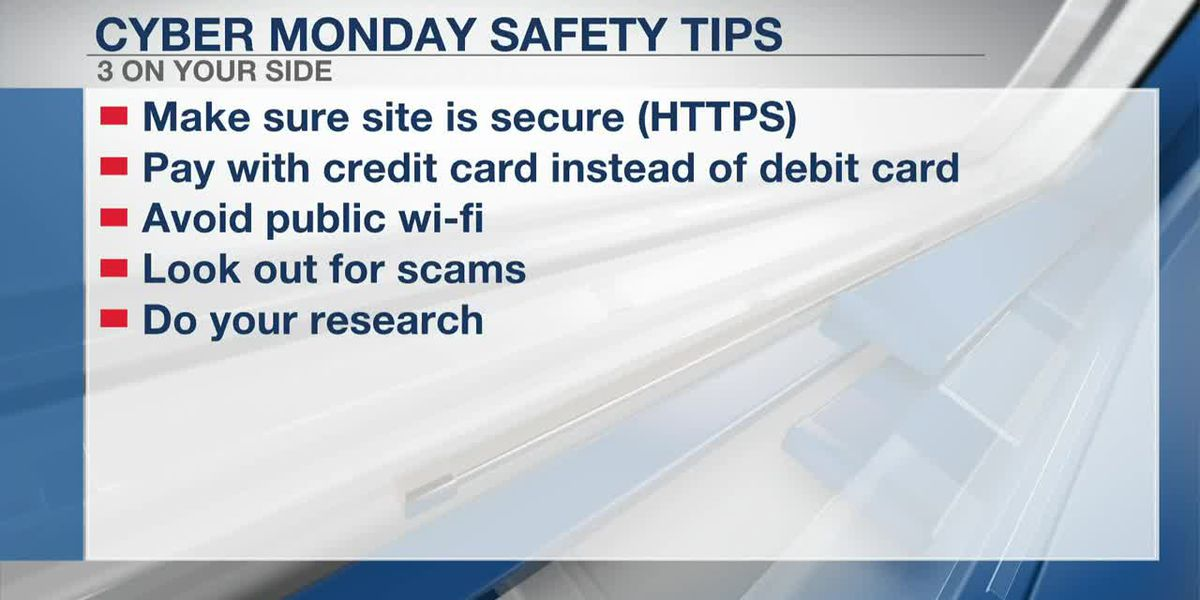 Keeping your personal information secure as you Cyber Monday shop