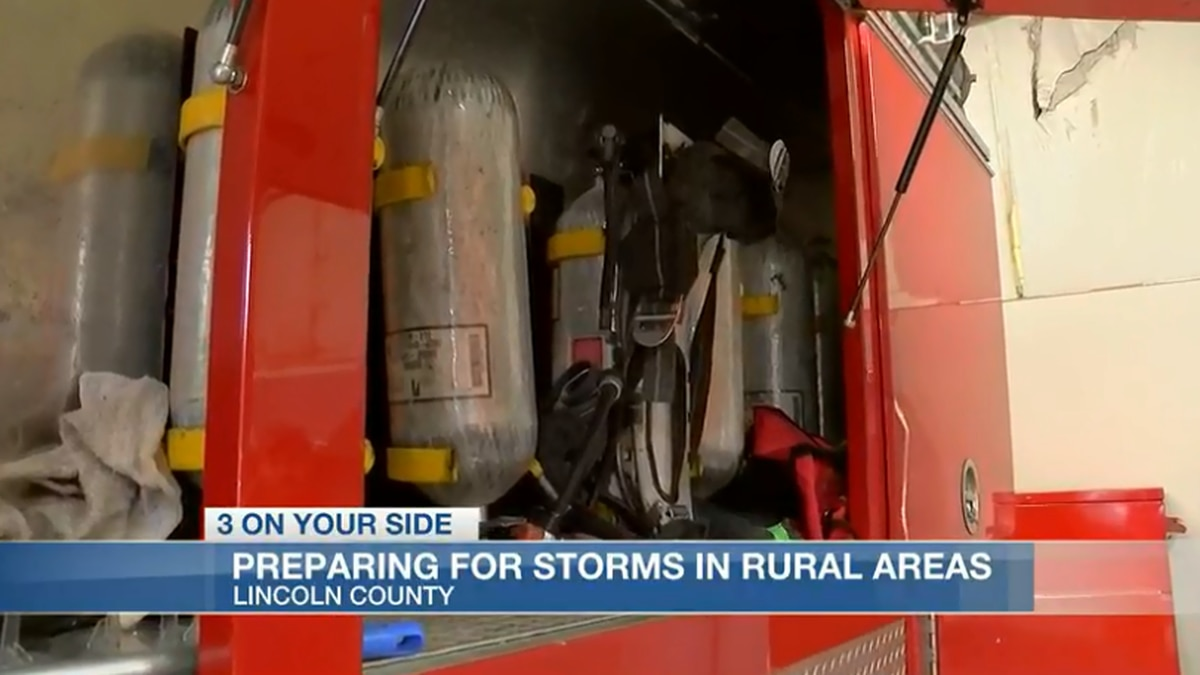 Rural responders prepared for severe weather system in Lincoln County