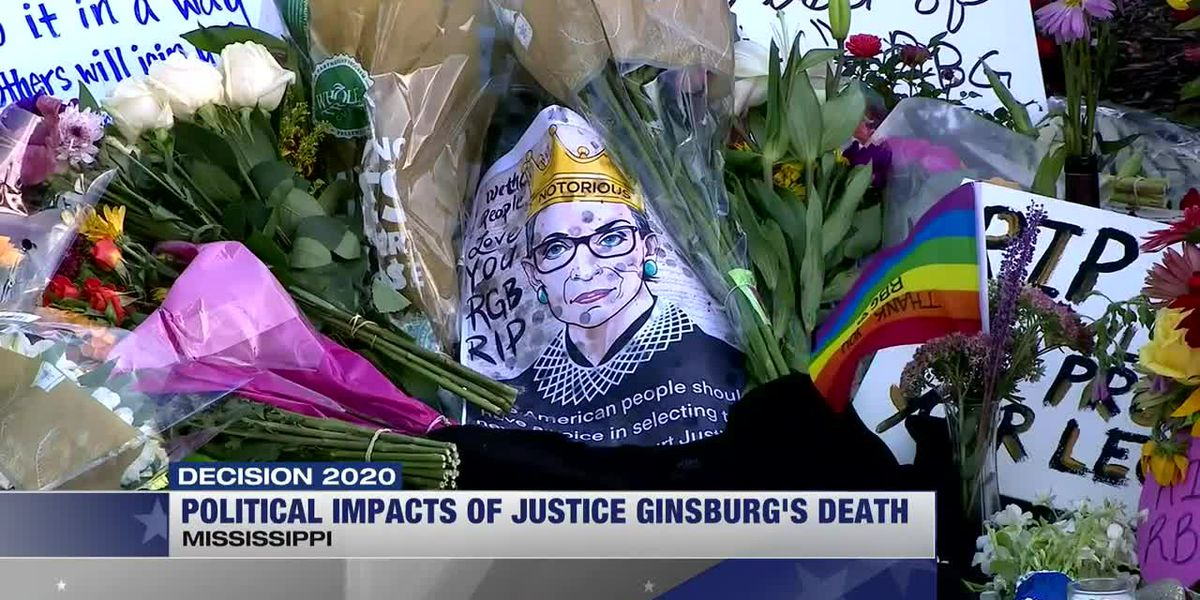 Political impacts of Justice Ginsburg's death coming into focus