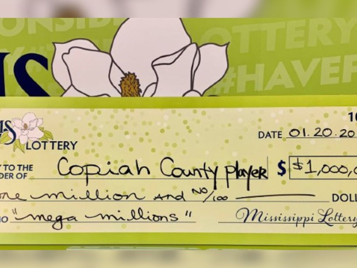 Mega Millions player in Copiah County wins $1 million, chooses to stay anonymous