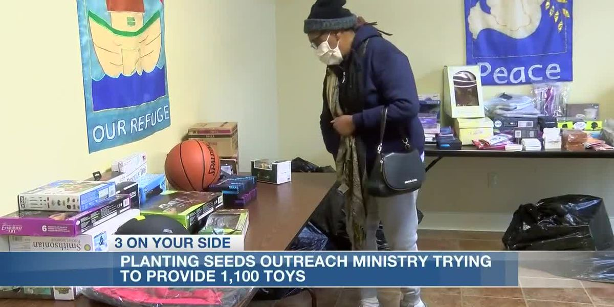 Outreach ministry scrambles to collect toys for needy children