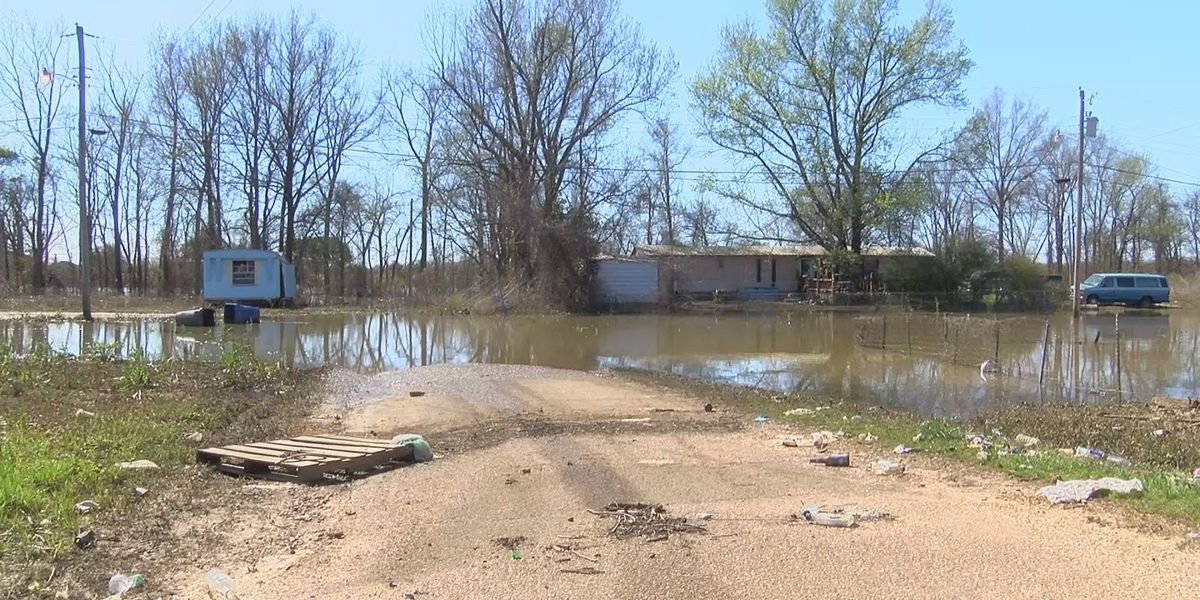 Tchula residents still waiting for flood waters to recede