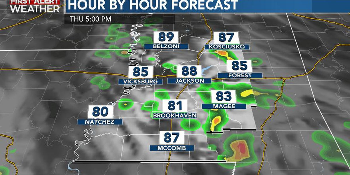 First Alert Forecast: storm chances return Thursday
