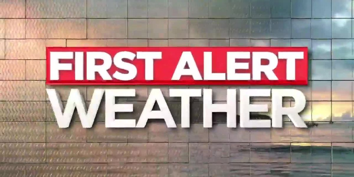 First Alert Forecast; storms, a few strong, possible Thursday