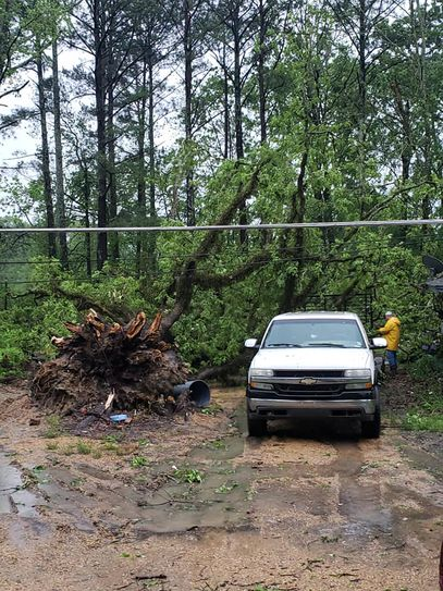 Entergy working to restore outages after storms