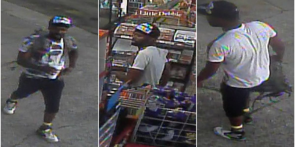 Suspect wanted for auto burglary in Ridgeland