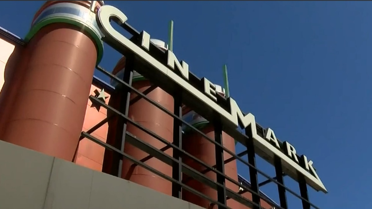 Cinemark theater in Pearl reopens, showing 'Comeback Classics'