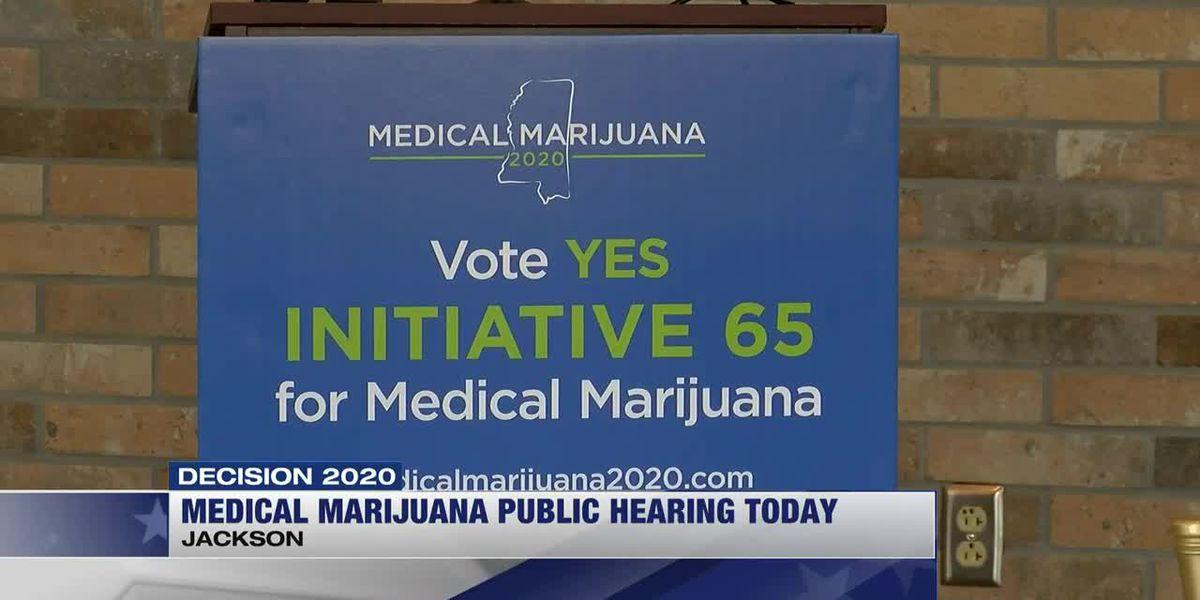 Public hearing to break down differences in medical marijuana initiatives
