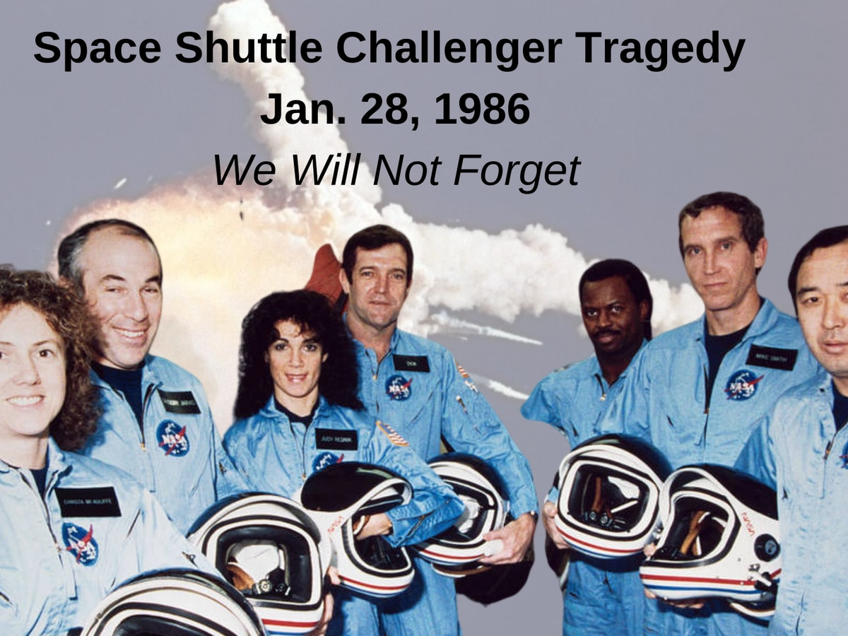 34 years ago NASA lost 7 astronauts when Challenger exploded