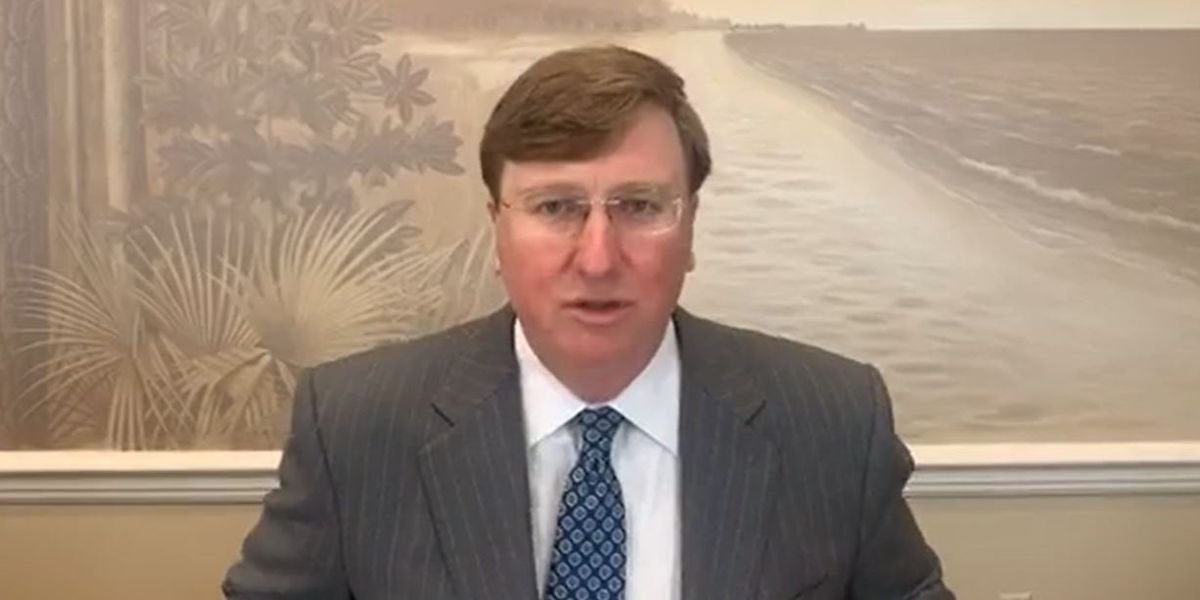 Gov. Reeves says lower coronavirus numbers in Mississippi are encouraging