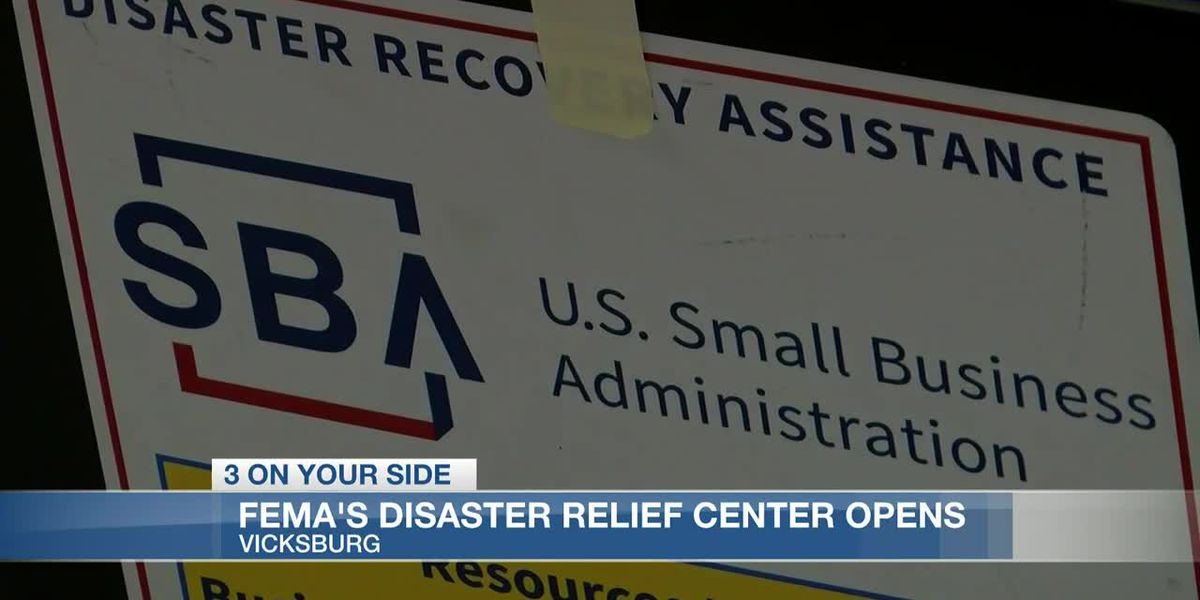 FEMA disaster recovery centers now open in Mississippi