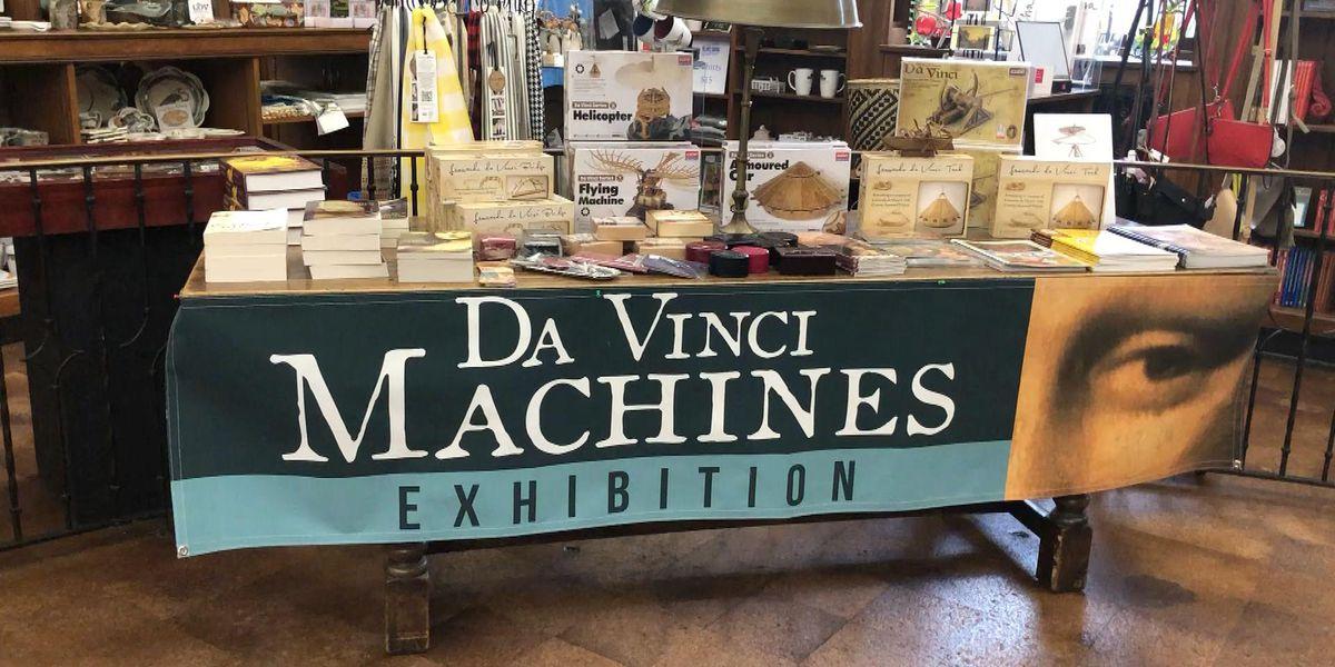 Three on the Road: Lauren Rogers Museum: DaVinci Machines