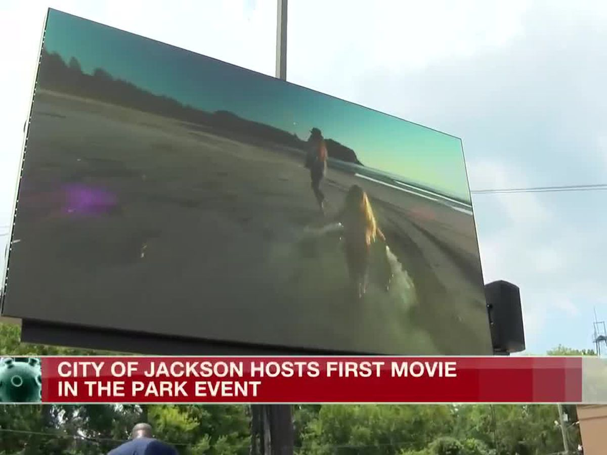 City of Jackson summer movie event respects COVID-19 guidelines
