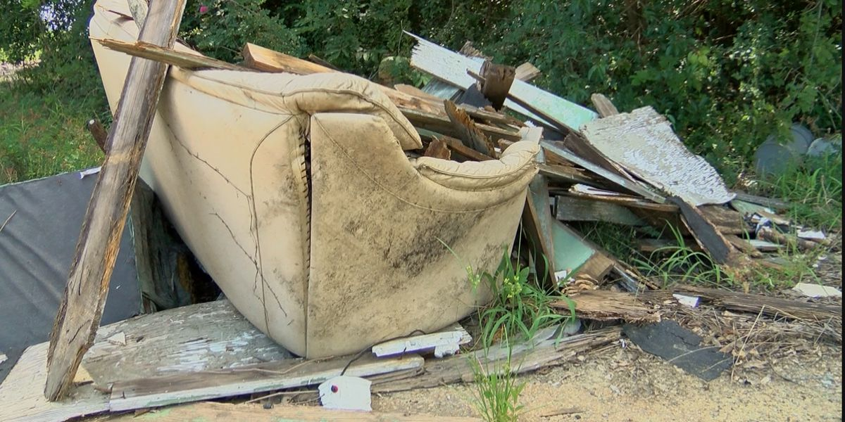 Illegally dumping trash in Jackson could cost you up to $25,000 in fines