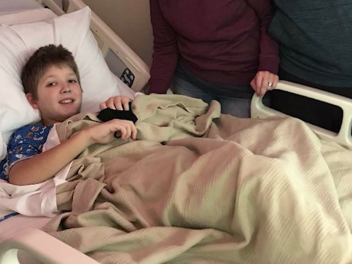 10-year-old boy born with heart condition receives life-changing transplant