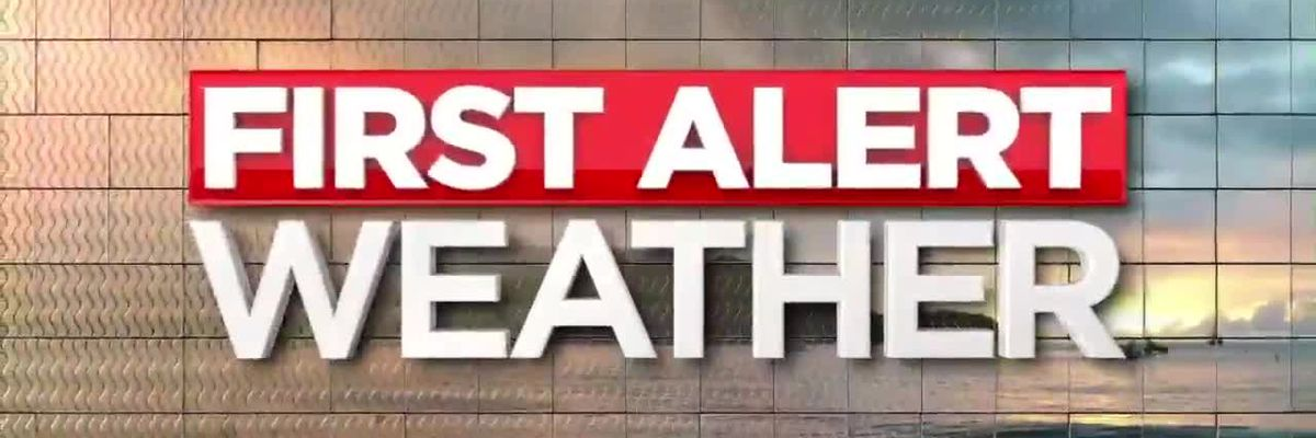 First Alert Forecast: drenching downpours from Barry continue