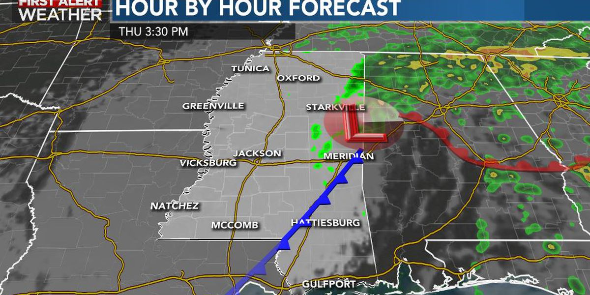 First Alert Forecast: rain tapers Thursday; quieter days emerge