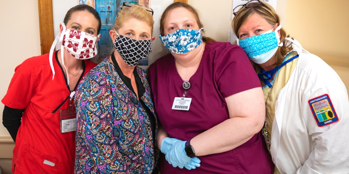 UMMC calling for home-sewn mask donations after new MSDH guidelines