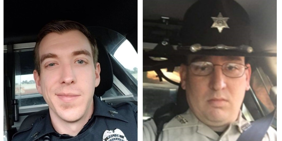 """Two """"fallen heroes"""", suspect identified in early morning shootout in Brookhaven, Mississippi"""