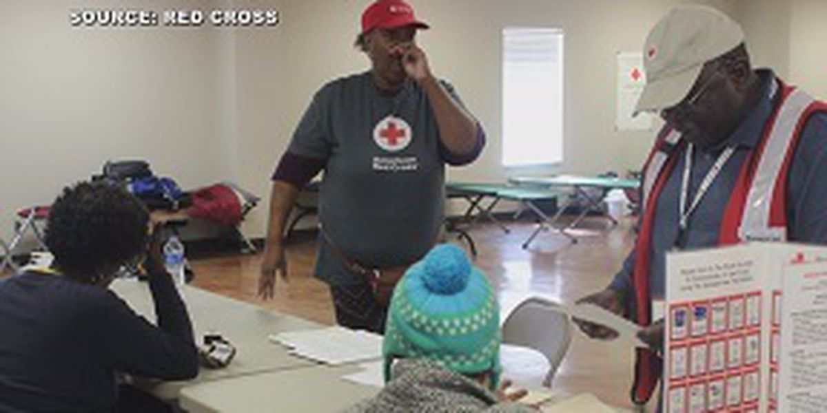 Red Cross providing training for volunteers to help in disasters