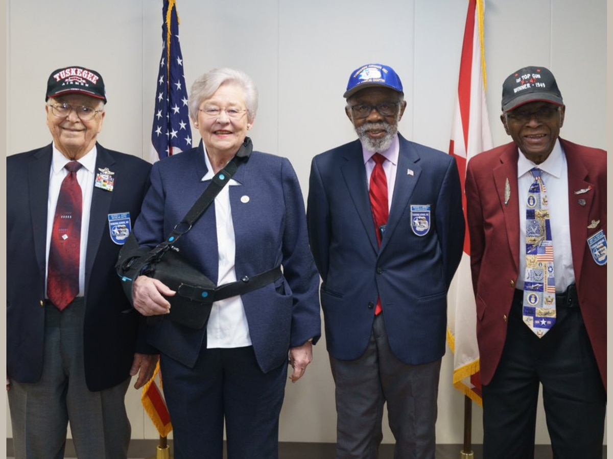 Governor Ivey declares March 7 as Tuskegee Airman Day