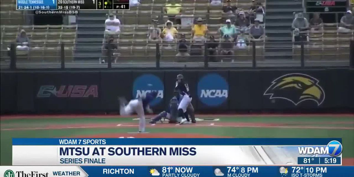 USM sweeps Middle Tennessee, takes over C-USA West Division