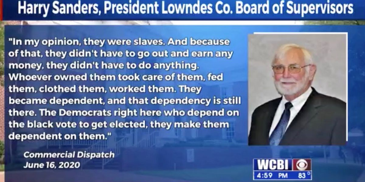 Lowndes Co. supervisor steps down as president following racially insensitive comments