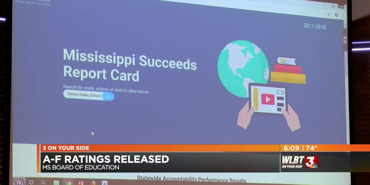 VIDEO: Mississippi school and district grades approved for 2018