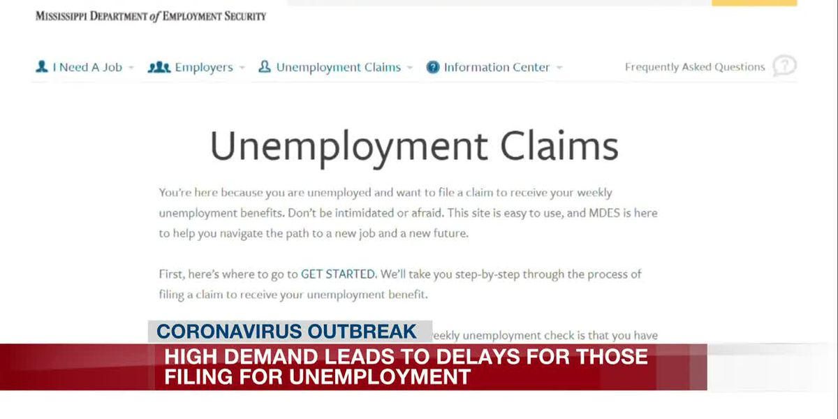 Unemployment claims up 600 percent; Depart. of Employment deals with system overload