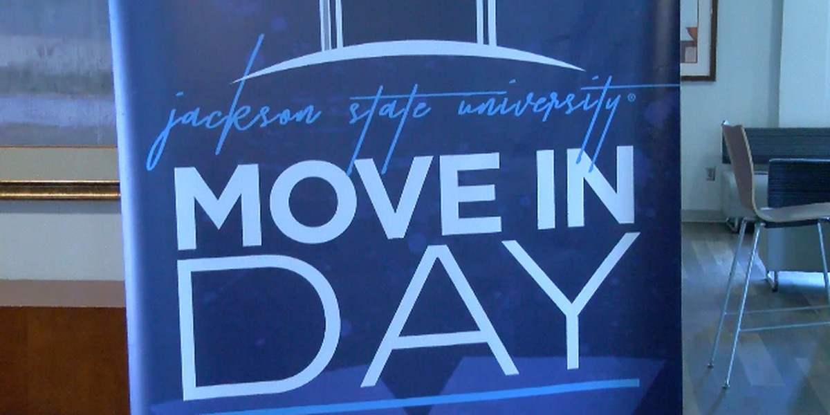 With COVID-19 protocols in place, JSU students return for move-in day