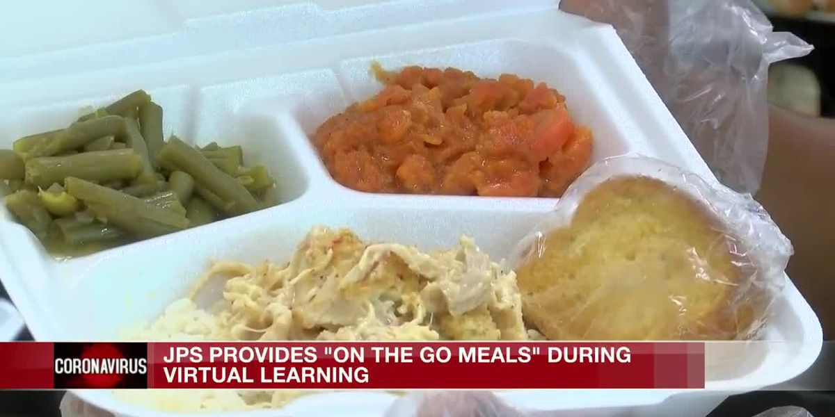 Virtual learning not stopping JPS from providing free meals to students