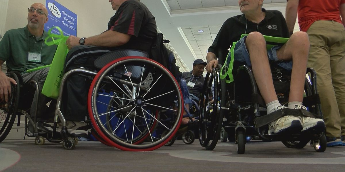 Hundreds of people gather for largest event in the state for people with disabilities