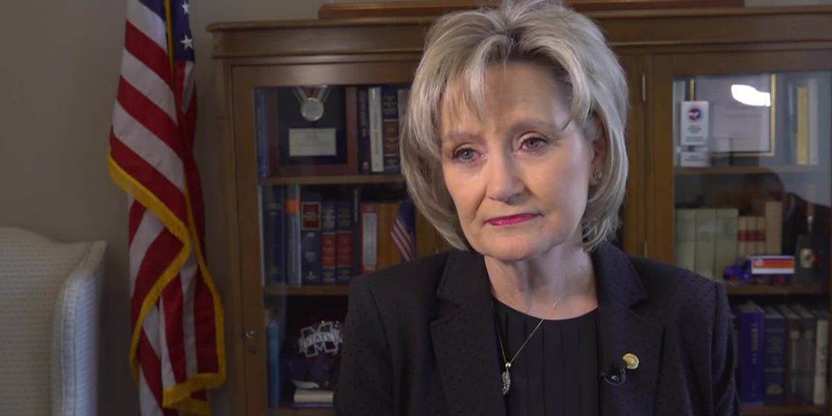 Senator Cindy Hyde-Smith speaks on historic signing of law to change state flag