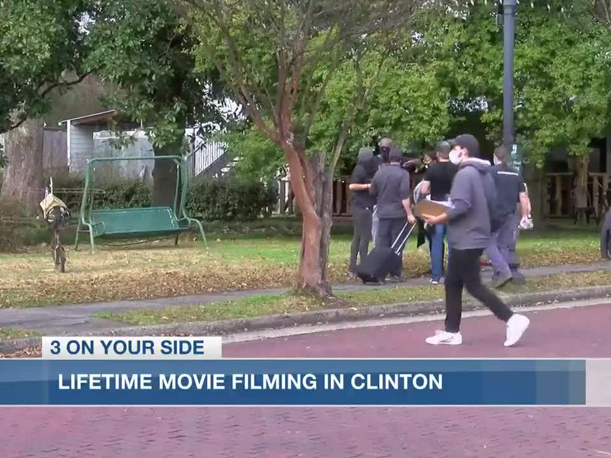 Clinton announces road closures for Lifetime movie production