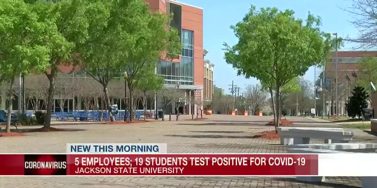 JSU: 5 employees, 19 students test positive for COVID-19