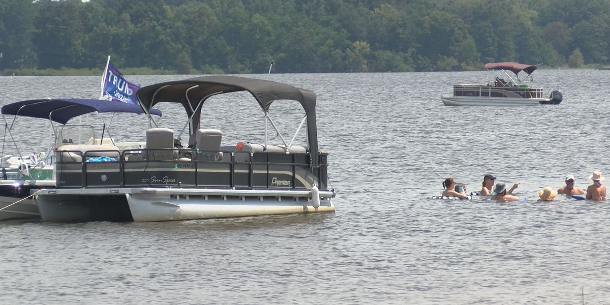Reservoir police seeing fewer boaters than years prior this Labor Day weekend