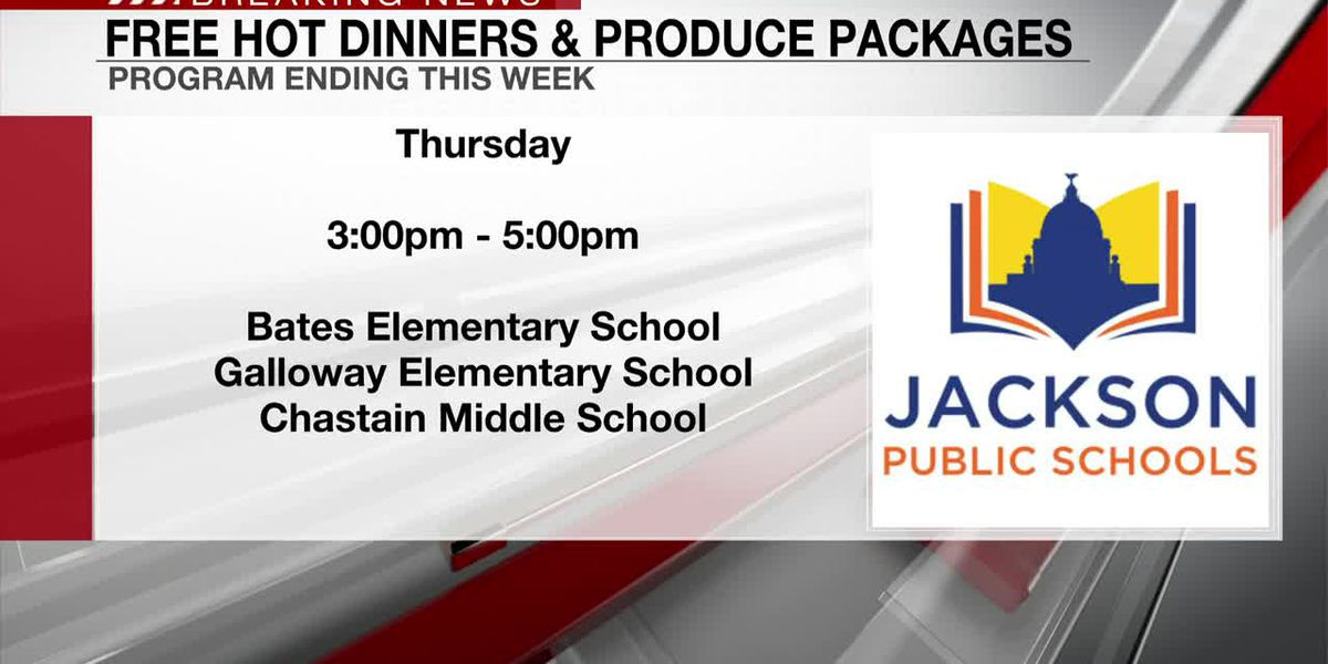JPS meal program comes to close