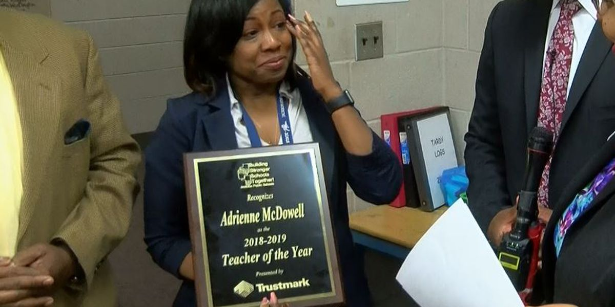 Forest Hill teacher named JPS Teacher of the Year