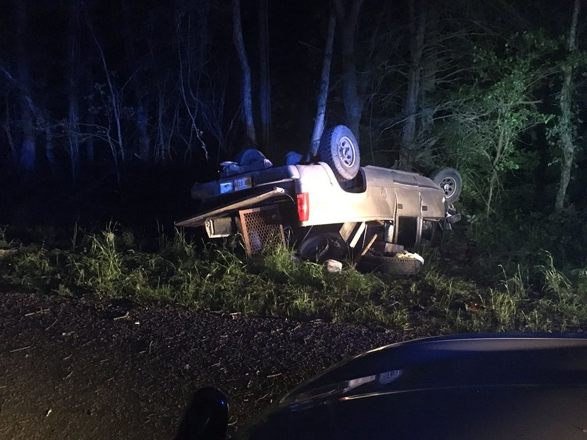 Man injured in wreck while trying to avoid hitting deer in Hinds County