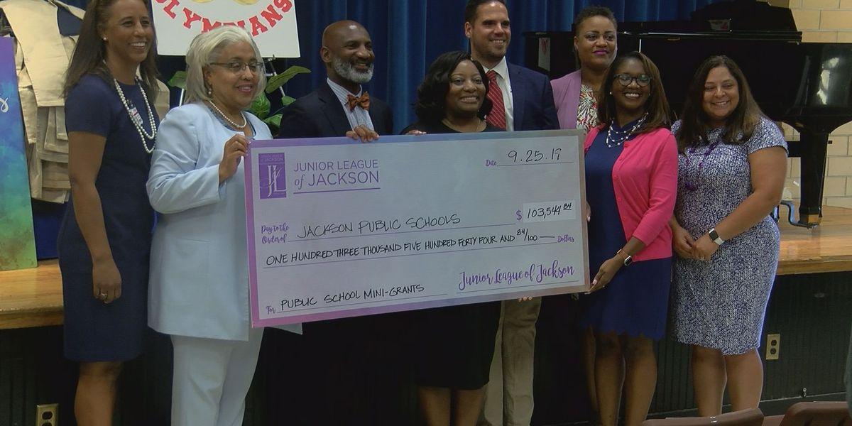 Grants bring new programs to JPS school