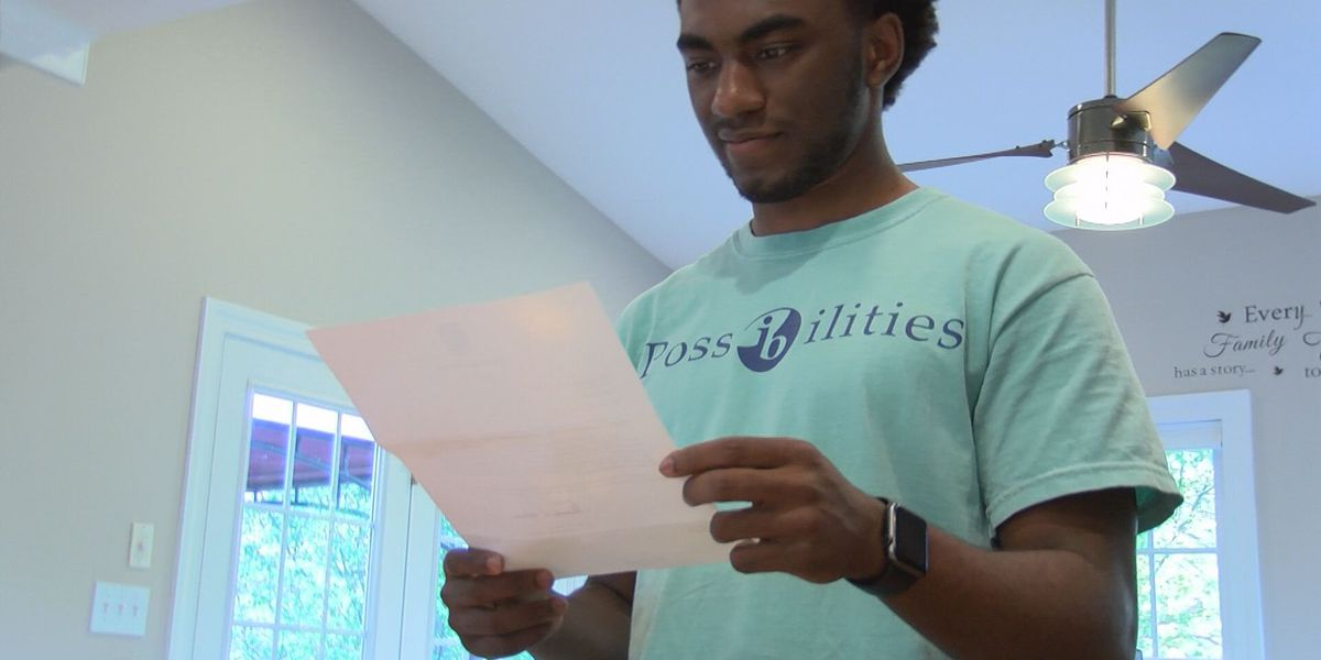 'More than proud of him': Virginia teen accepted to 14 schools
